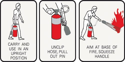 How to use a Fire Extinguisher?