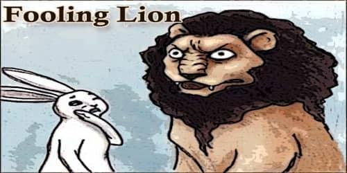 Fooling Lion