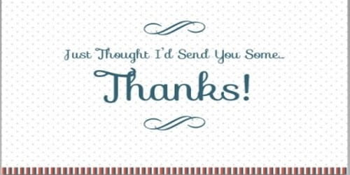 Common Format of the Business Thank You Letter