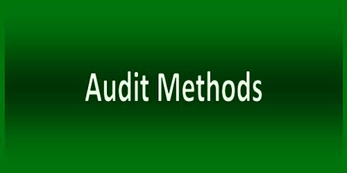 Methods of Audit