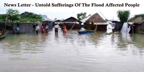 News Letter – Untold Sufferings Of The Flood Affected People