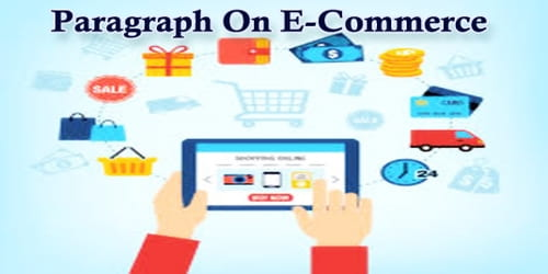 Paragraph On E-Commerce