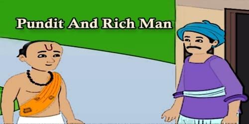 Pundit And Rich Man