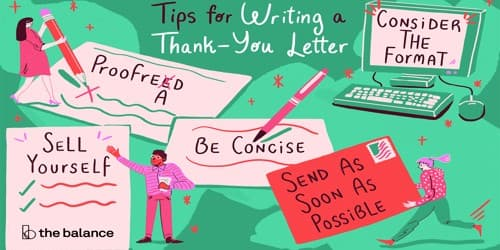 Some Thank You Letter Writing Tips and Guidelines