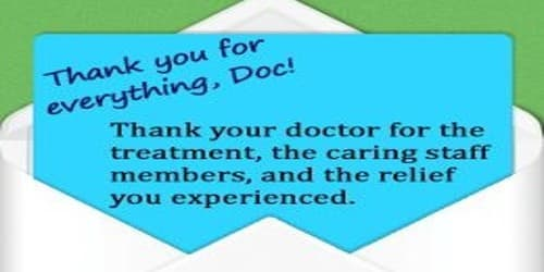 Sincere Thank You Letter to your Doctor