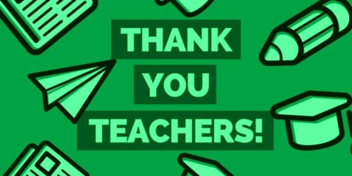 Thank You Letter to Teacher to Express Gratefulness