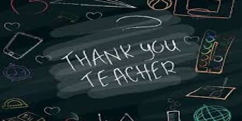 Thank You Letter to Teacher to show Gratitude