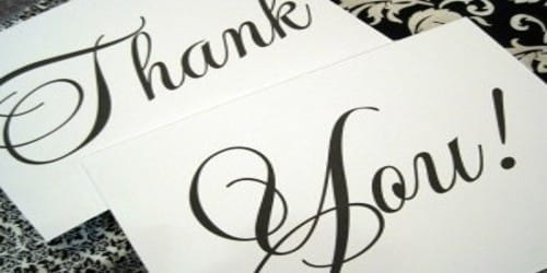 Thank you Letter for Invitation Acceptance