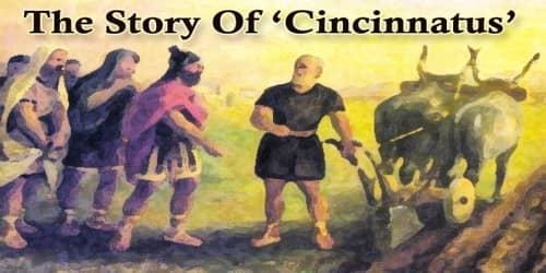 The Story Of Cincinnatus