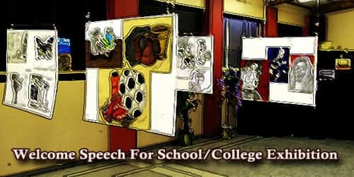 Welcome Speech For School/College Exhibition