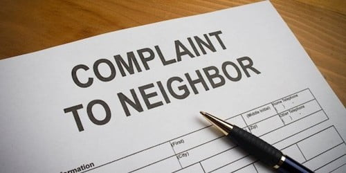 Complaint Letter to Council against your Noisy Neighbor