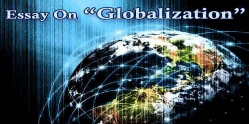 Essay On Globalization