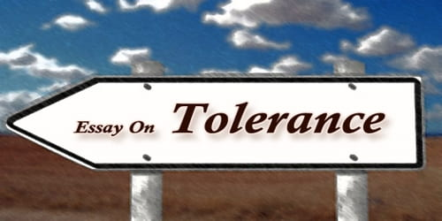Essay On Tolerance