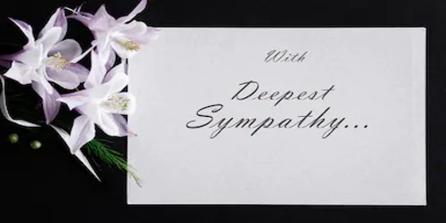 Sample Funeral Condolence Letter Format