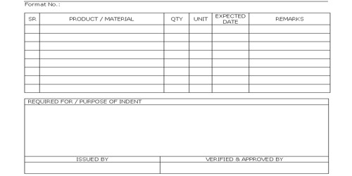 Sample Goods Issuance Form Format