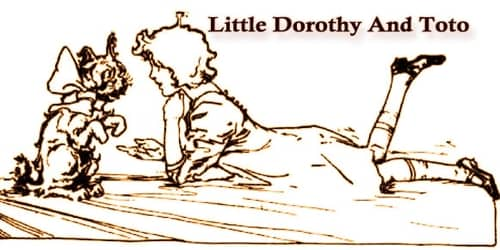 Little Dorothy And Toto