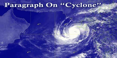 Paragraph On Cyclone