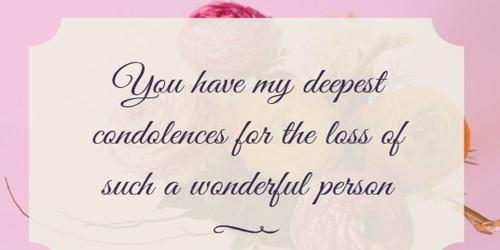 Sample Sympathy Letter for Loss of Husband
