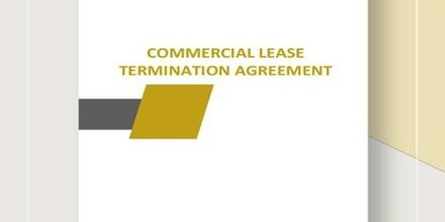 Termination Letter of Commercial Lease