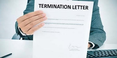Termination Letter of Development Contract