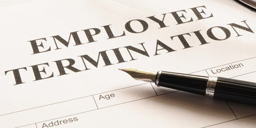Termination of Employment Letter Format