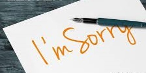 How to Write Sorry Letter?