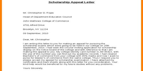 Letter Of Appeal Format from www.assignmentpoint.com