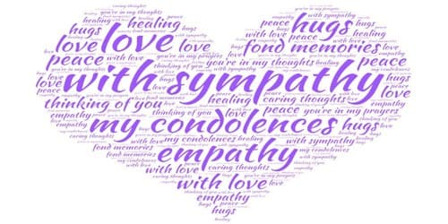 Sympathy Letter for Illness to a loved one who is Suffering