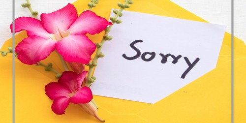 Tips to follow to write a Sorry Letter
