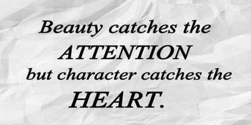 Character Makes a Man Best Asset