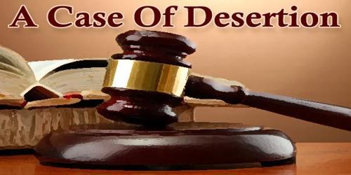A Case Of Desertion