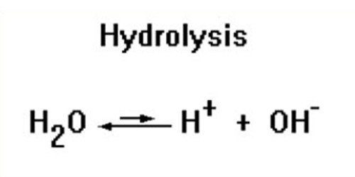 Hydrolysis – a chemical reaction