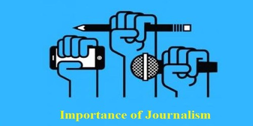 Importance of Journalism