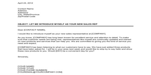 Sample Sales Letter to Introduce New Software