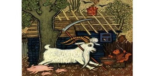 The Blessed Goat (A Russian Tale)