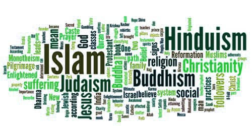 The Influence of Religions – an Open Speech