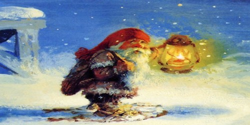 The Nisse and the Christmas Pudding