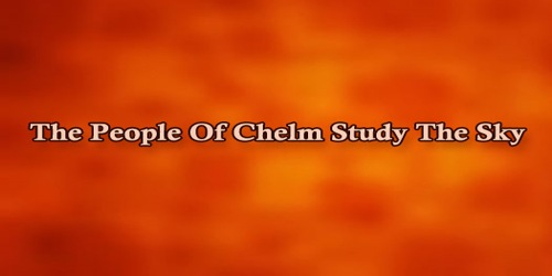 The People Of Chelm Study The Sky