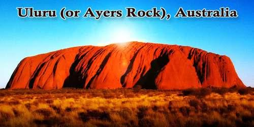 Uluru (or Ayers Rock), Australia