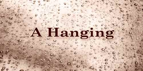 A Hanging