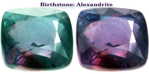 Birthstone: Alexandrite