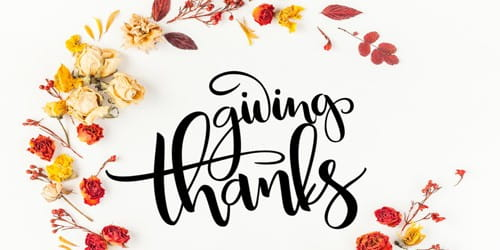 Giving Thanks