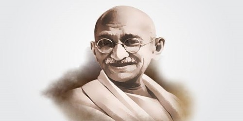The most influential persons in my life – Mahatma Gandhi