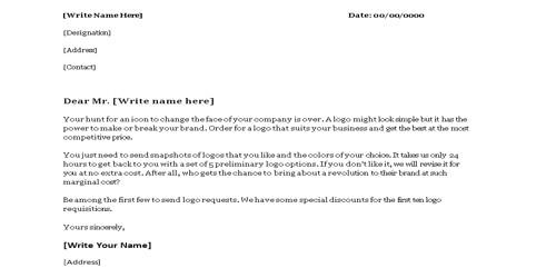 Best Sales Letter Format
