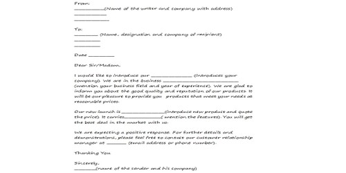 Sample Effective Sales Letter Format