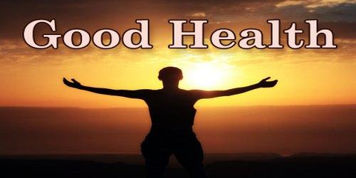 Paragraph On Good Health