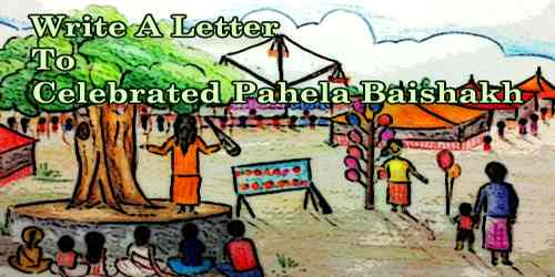 Write A Letter To Celebrated Pahela Baishakh