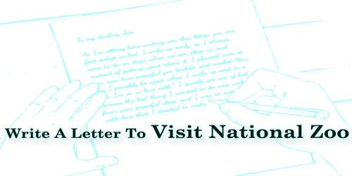 Write A Letter To Visit National Zoo