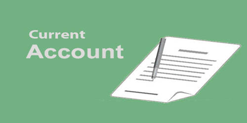 Current Account in Bank