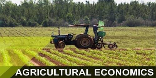 Major topics in Agricultural Economics